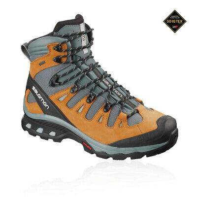 Salomon Mens Quest 4D 3 GORE-TEX Walking Boots Grey Sand Sports Outdoors