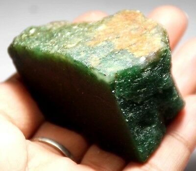 401.20 ct Natural SUPER GREEN AVENTURINE Loose ROUGH - INDIA