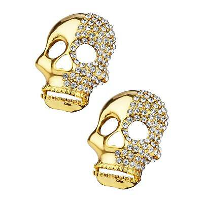 Shoelery Two Faced Skull Shoe Clips (pair) - by Erica Giuliani