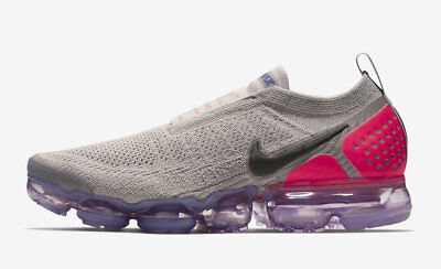 cozy fresh nice shoes on feet at 2018 NIKE AIR Vapormax Flyknit MOC 2 SZ 9 Moon Particle ...