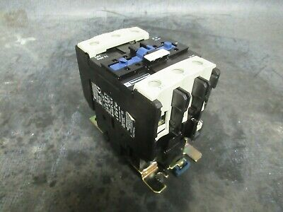 110 Amp Telemecanique Contactor Lc1D8011 600V 60Hp 3 Phase Coil: 120 Vac
