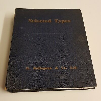 B Dellagana & Co Selected Types - Type Specimen Book