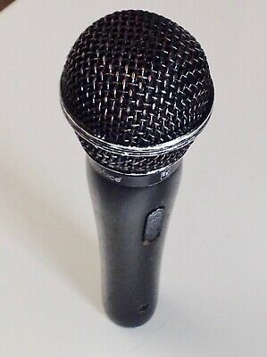 Electro Voice MC100 Hand Held Dynamic Microphone. with On/Off Switch