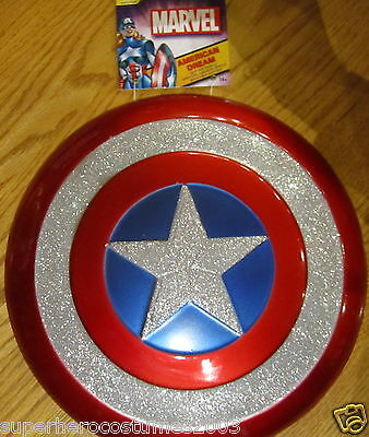 Avenges Captain America Glitter Shield Child Marvel 12 1/2 Inches Disguise NEW