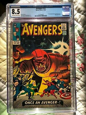 Avengers 23 Cgc 8.5 Ow/w Pages 2Nd Kang Beeautiful Cover!!