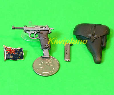 1//6 Scale Dragon WWII German Pistol /& Holster