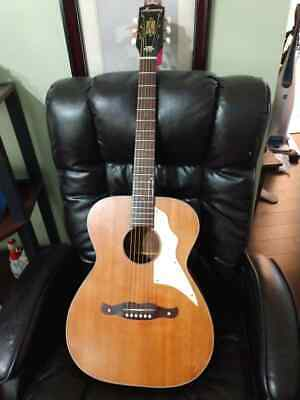 *SUPER RARE* OLD VINTAGE Harmony H-162 Hybrid Acoustic/Electric -READY TO PLAY!
