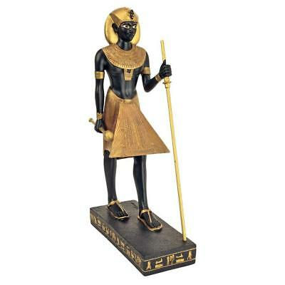 """8.5"""" The Gods of Ancient Egypt Sculpture Collection: King Tut Young Pharoah"""
