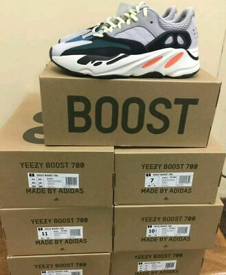 622433f28 Adidas Yeezy Boost 700 Wave Runner Mens Shoes grey Size 6 100% authentic NEW