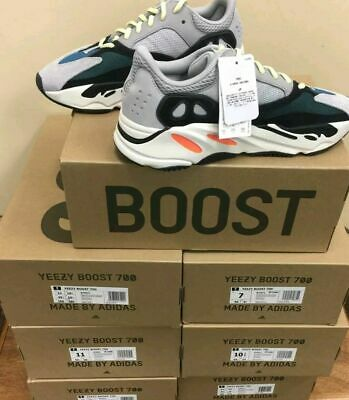ceebaa6b4 Adidas Yeezy Boost 700 Wave Runner Mens Shoes grey Size 7.5 100% authentic  NEW
