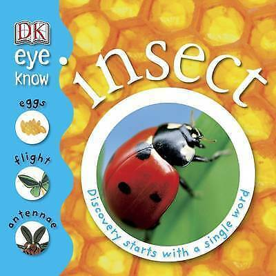 Insects Fact Book For Children By Dk With Flaps & Fold Out Pages