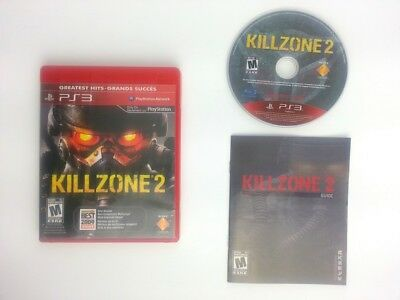Killzone 2 game for Sony Playstation 3 PS3 -Complete