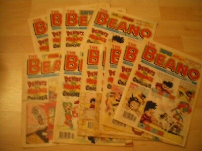 The Beano Comics, Collection Of 11 Comics, 1994