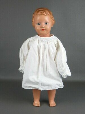 Antique Vintage Bambola Little Girl Celluloid 50's Marked Height 50Cm