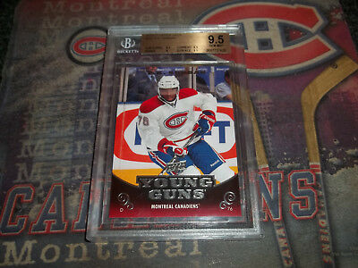 P.K. Subban lot X 3 Rookie RC 2010-11 UD Young Guns # 231 BGS 9.5 Victory Panini
