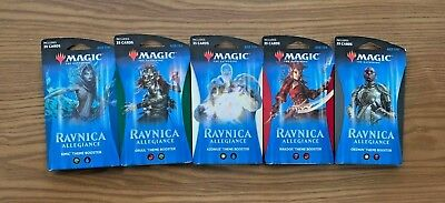 MTG 5x Ravnica Allegiance THEME Booster Packs Complete Set FREE SHIPPING