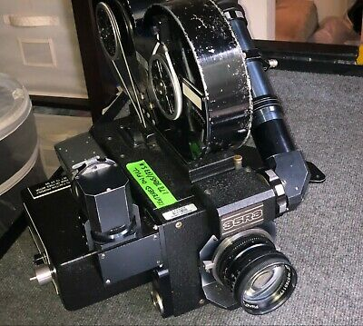 35MM 35R3 FRIES / MITCHELL Crystal Sync Motion Picture Movie Camera Package