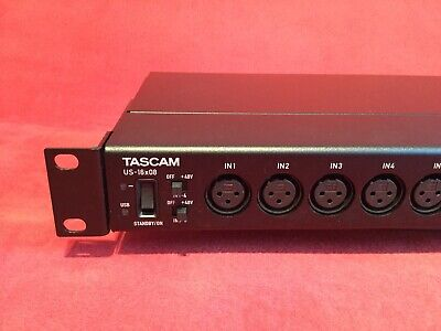 TASCAM US-16x08 – Usb-audio-/midi-interface 96kHz/24bit HiRes