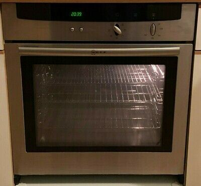 Neff B1422 Integrated Electric Fan Assisted Single Oven And Grill