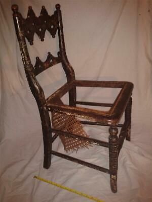 NICE 19TH C. CHAIR need of RESTORATION