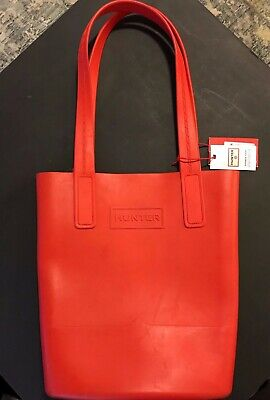 7a27a76010 NWT HUNTER FOR Target Red Oversized Over Size Tote Bag Limited ...