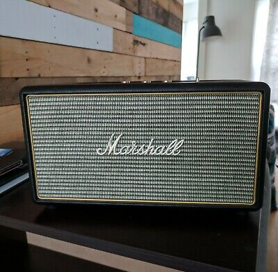 Marshall Stanmore Bluetooth Speaker, Black - Barely Used - (04091627)