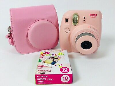 FUJIFILM Instax Mini 8 Pink Instant Film Camera