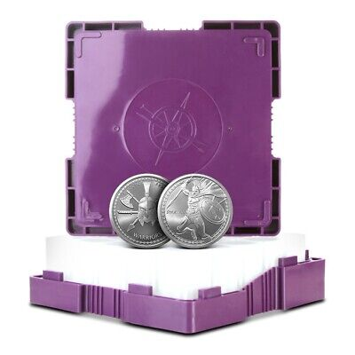 Monster Box of 500 - 1 Troy Oz .999 Fine Spartan Warrior Silver Rounds