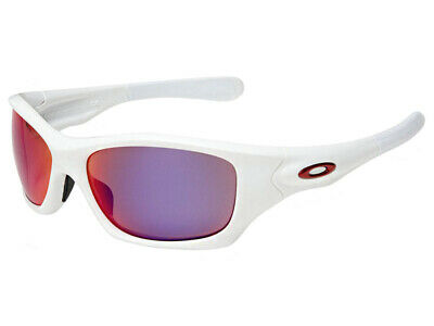 3ec40916d8e Oakley Pit Bull Polarized Sunglasses OO9161-07 Matte White OO Red Iridium  Asian
