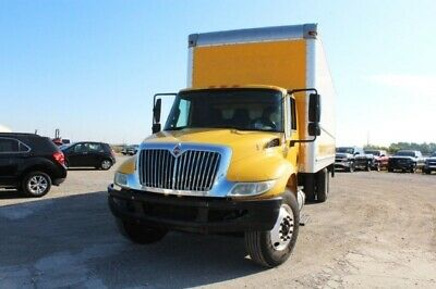 2012 International 4300 26 ft Box Truck Liftgate 2012 International 4300, YELLOW with 216,663 Miles available now!