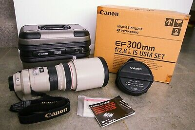 Canon EF 300mm f2.8 L IS USM 300/2.8 Telephoto Lens
