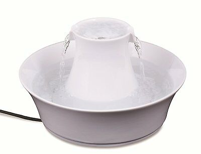 Petsafe Drinkwell Dog Cat Ceramic Water Fountain - Avalon  - 2 Litres