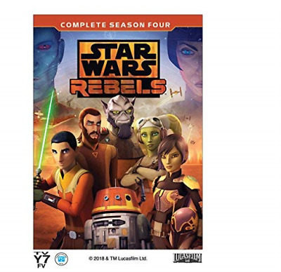 STAR WARS REBELS: COMPLETE ...-STAR WARS REBELS: COMPLETE SEASON 4 ( Blu-Ray NEW