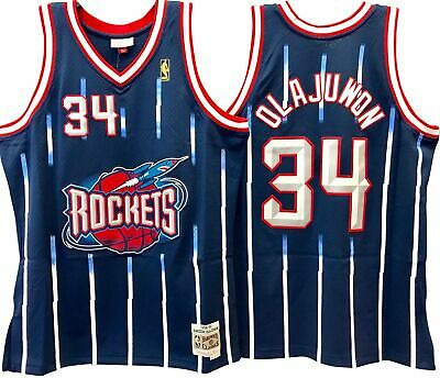 Hakeem Olajuwon Houston Rockets Nba Hardwood Classics Throwback Swingman  Jersey a8ee4e6e0