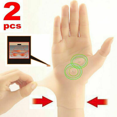 Gel Arthritis Glove Pain Relief Magnetic Wrist Hand Thumb Support Silicone Brace