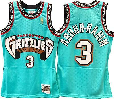 d01f8def19f Shareef Abdur-Rahim Vancouver Grizzlies Hardwood Classics Throwback NBA  Swingman