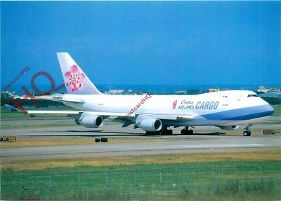 Picture Postcard-:CHINA AIRLINES CARGO BOEING 747-409F(SCD) B-18703 [POS]