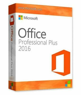 Microsoft Office 2016 Professional Plus Genuine Product Key & Download Link