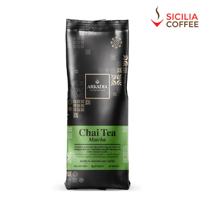 1kg Arkadia MATCHA Chai Latte Powder Drink Cafe Use Tea Sicilia Coffee