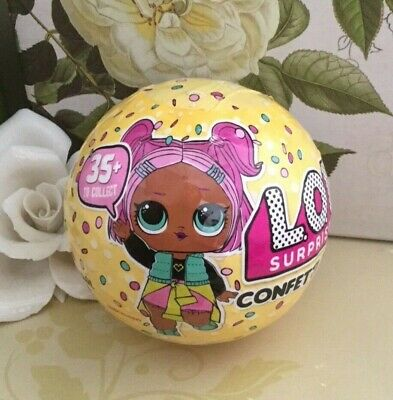 NEW! SEALED!! LOL Surprise CONFETTI POP Doll SERIES 3 WAVE 1 BALL - SHIP FAST !
