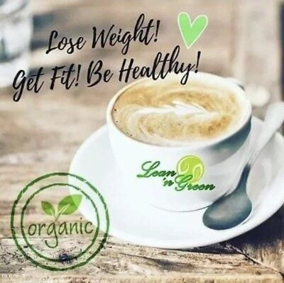 3 Boxes Lean N Green Coffee Quick Shipping 100% Organic Slimming Coffee