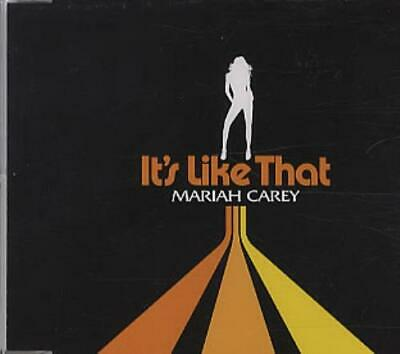"Mariah Carey It's Like That - No obi CD single (CD5 / 5"") Japanese promo"