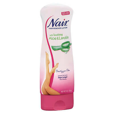 Nair Body Hair Remover - Aloe & Lanolin - Choose Pack Size