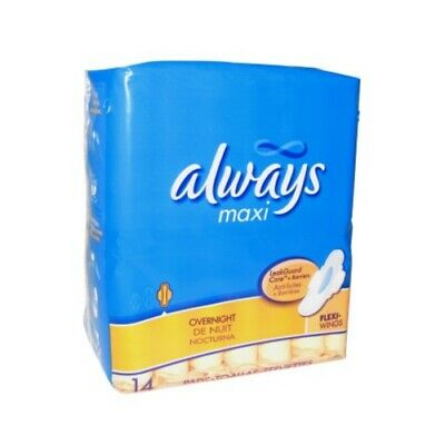 Always Maxi Overnight Pads With Flexi-Wings - Choose Pack Size