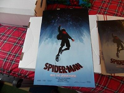 Spider Man Into The Spider Verse Double Sided Poster