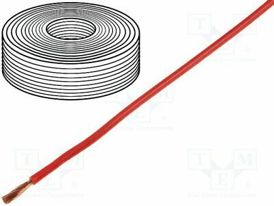D-2510 - 1rol Cordon; corde; Cu; 1x1,5mm2; silicone; rouge; 250V; -60÷180°...