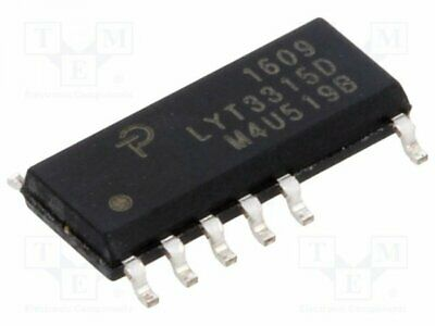 LYT3315D - 1pcs PMIC; AC/DC switcher, commande LED; 85÷265V; Ubr:650V; SO1...