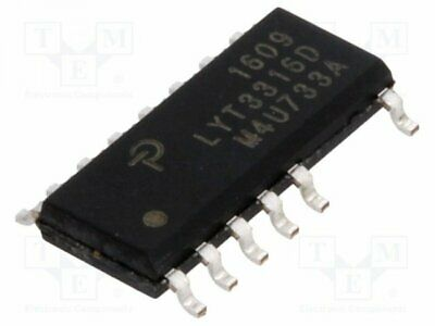 LYT3316D - 1pcs PMIC; AC/DC switcher, commande LED; 85÷265V; Ubr:650V; SO16B