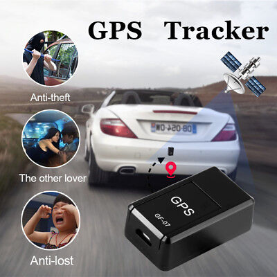 Magnetic Mini Car GSM GPRS SPY Tracker GPS Real Time Tracking Locator Device