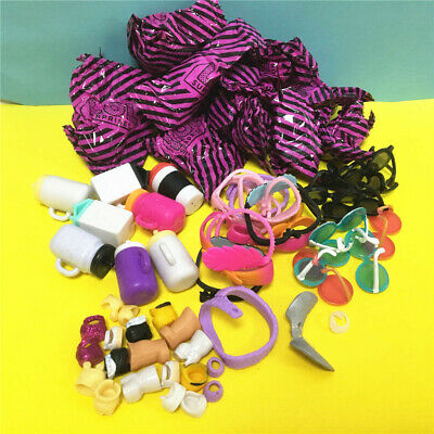 8pcs LOL Surprise Doll Accessories Blind Bag Kids Gift Toy Random